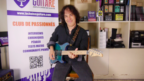 Interview Renaud Louis-Servais - 50 Plugged Guitars Project