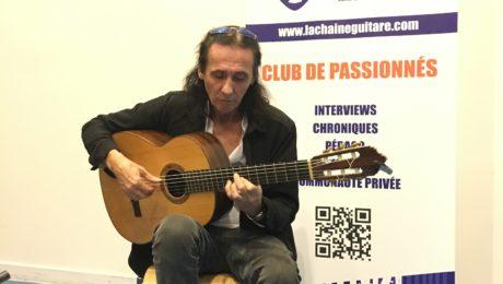 Interview Serge Lopez - Du Flamenco au Festival Guitare Issoudun 2018