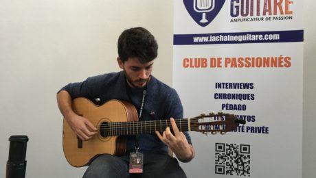 Interview Jean-Baptiste Hardy - Guitare à la Main à Issoudun 2018