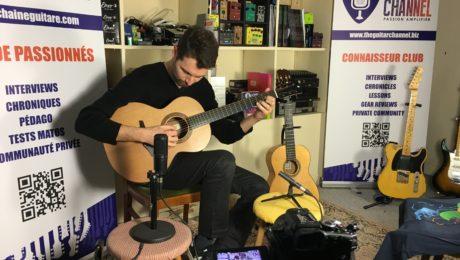 Interview Samuel Strouk - Guitare à la Main au showroom