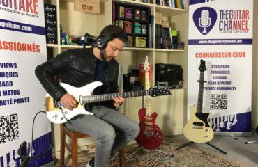 Interview Robin Angelini alias Saturax - Guitare à la Main