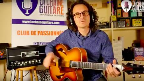 Replay Live - 09/11/18 - Archtop Pierre Bertrand / BD Custom Amp
