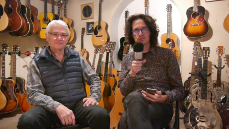 Interview François Charle - Célèbre revendeur de guitares Vintage de Paris - Partie 1/2