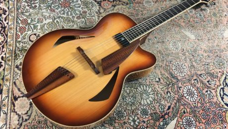 Test Guitare - Archtop 16,5