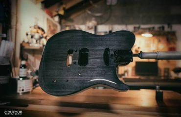 Interview luthier Christophe Dufour - Custom Design Guitars