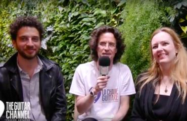 Interview Heike Matthiesen et Sebastian Pecznik - Musikmesse 2017