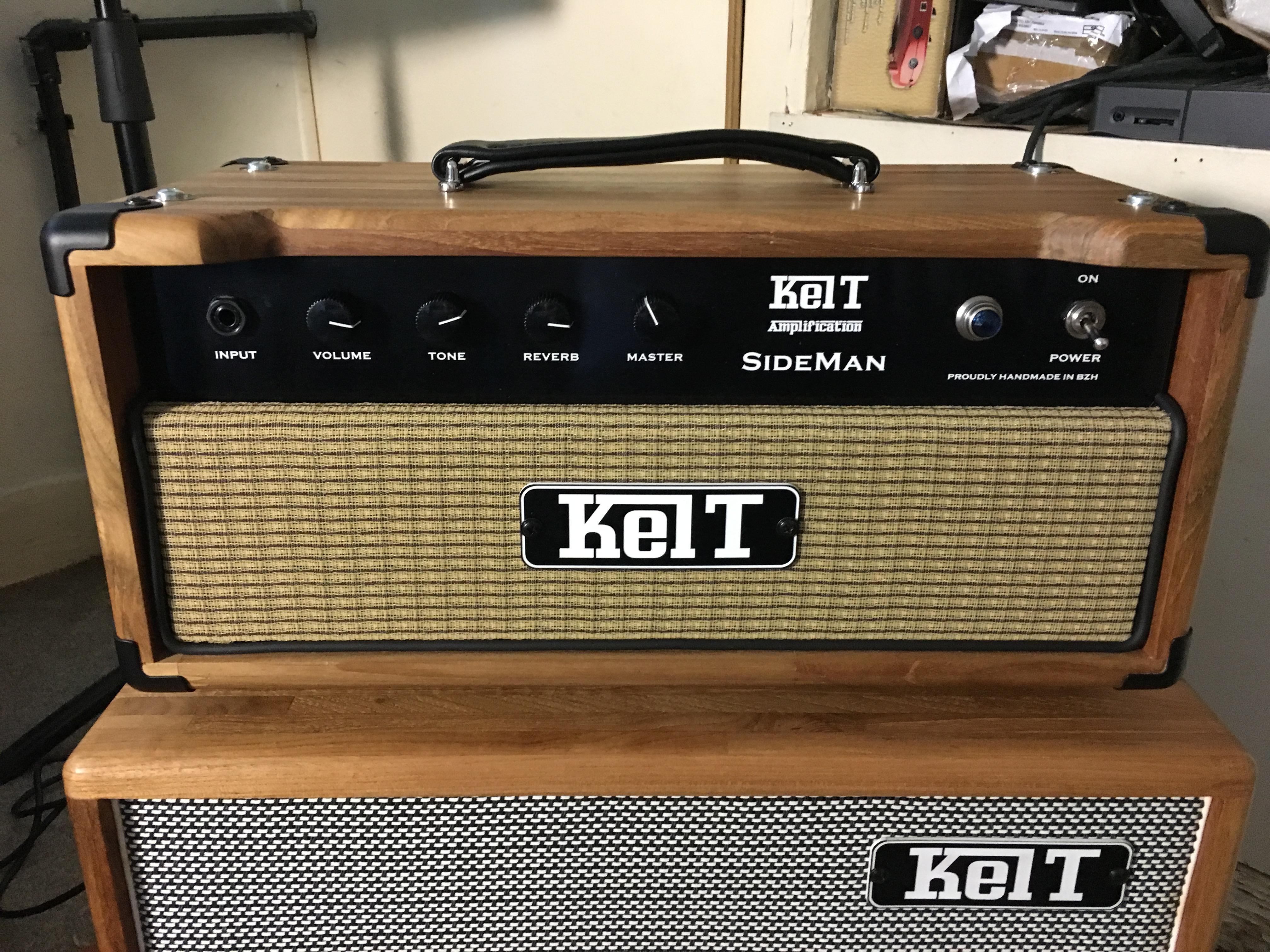 Test Ampli - Sideman Kelt Amplification - 100% lampes !
