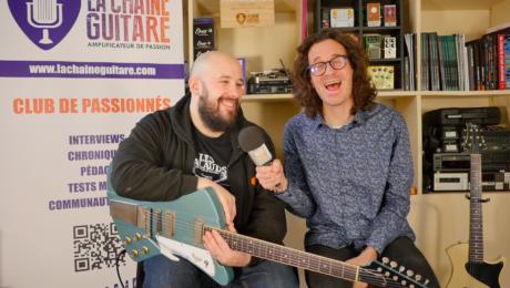 Interview Julien Bitoun - New Guitar Day : Springer Firehawk