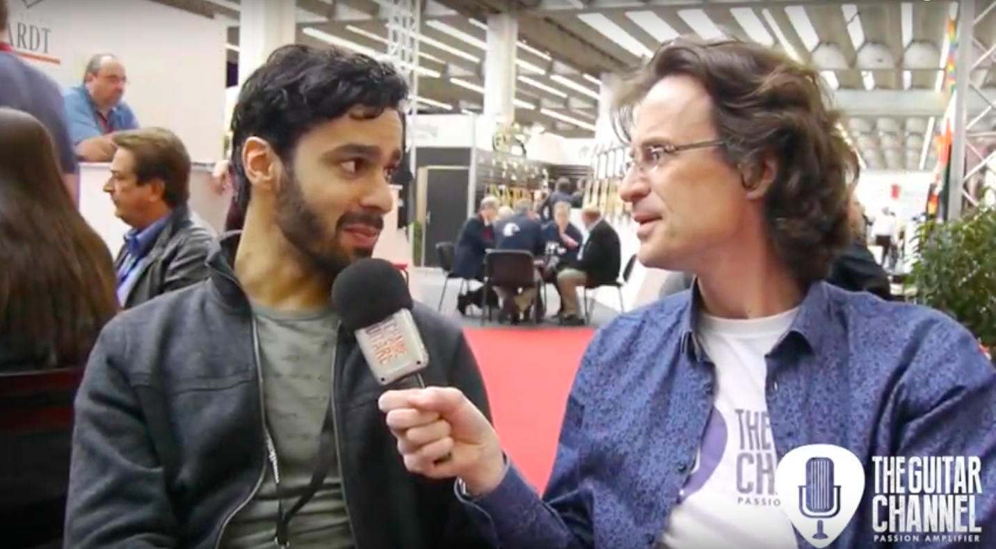 Interview Maneli Jamal - Musikmesse 2017