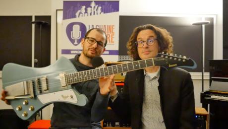 Interview luthier Mikaël Springer - Présentation de la Firehawk Springer