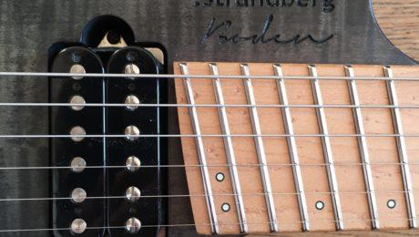 Test Guitare - Strandberg Boden Original 6