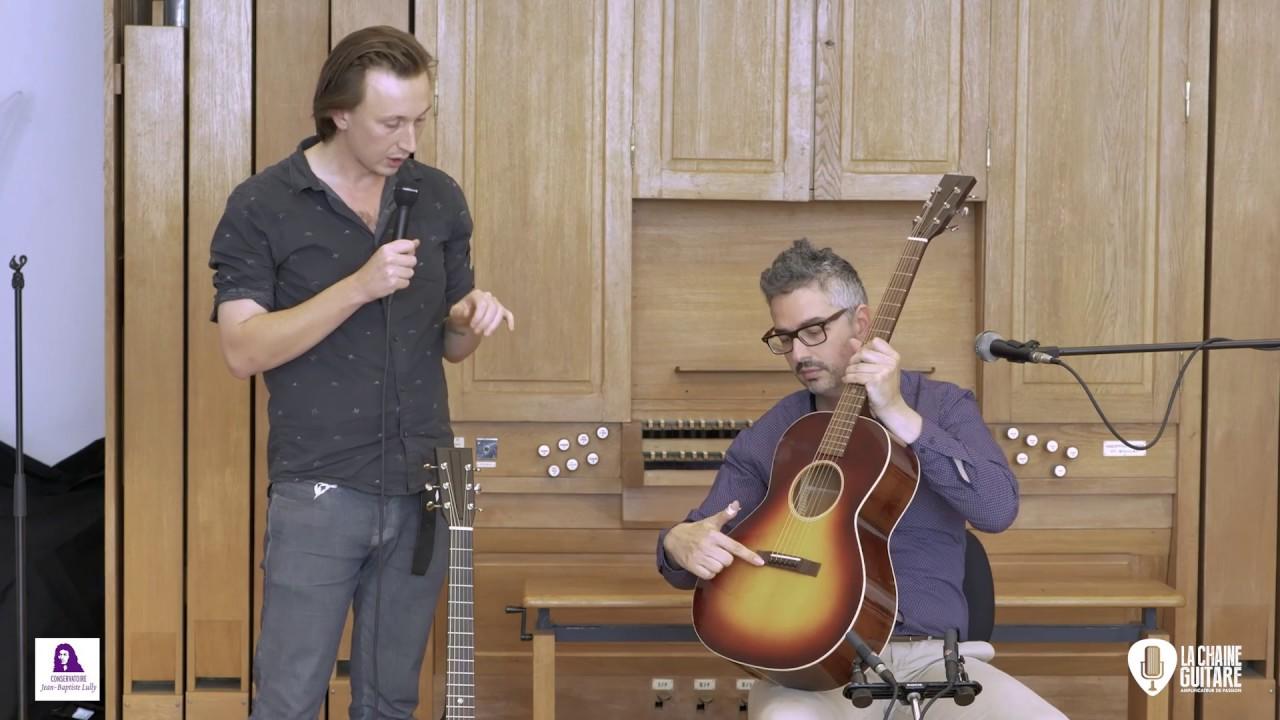 Vidéos des concerts des luthiers - Festival de Guitare de Puteaux 2018