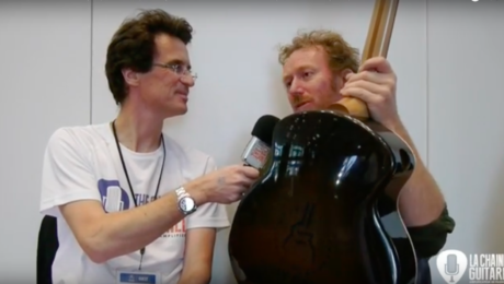 Interview luthier Fred Pons - Holy Grail Guitar Show 2016