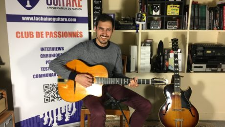 Interview Martin Gioani - Le musicien derrière guitare-improvisation.com