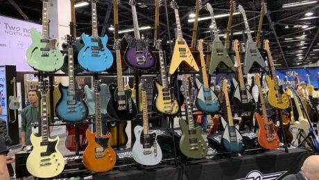 NAMM 2019 - Jour 1 - Interviews et belles guitares