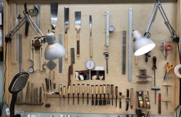 Visite atelier de luthier - Isaac Jang (Hollywood)