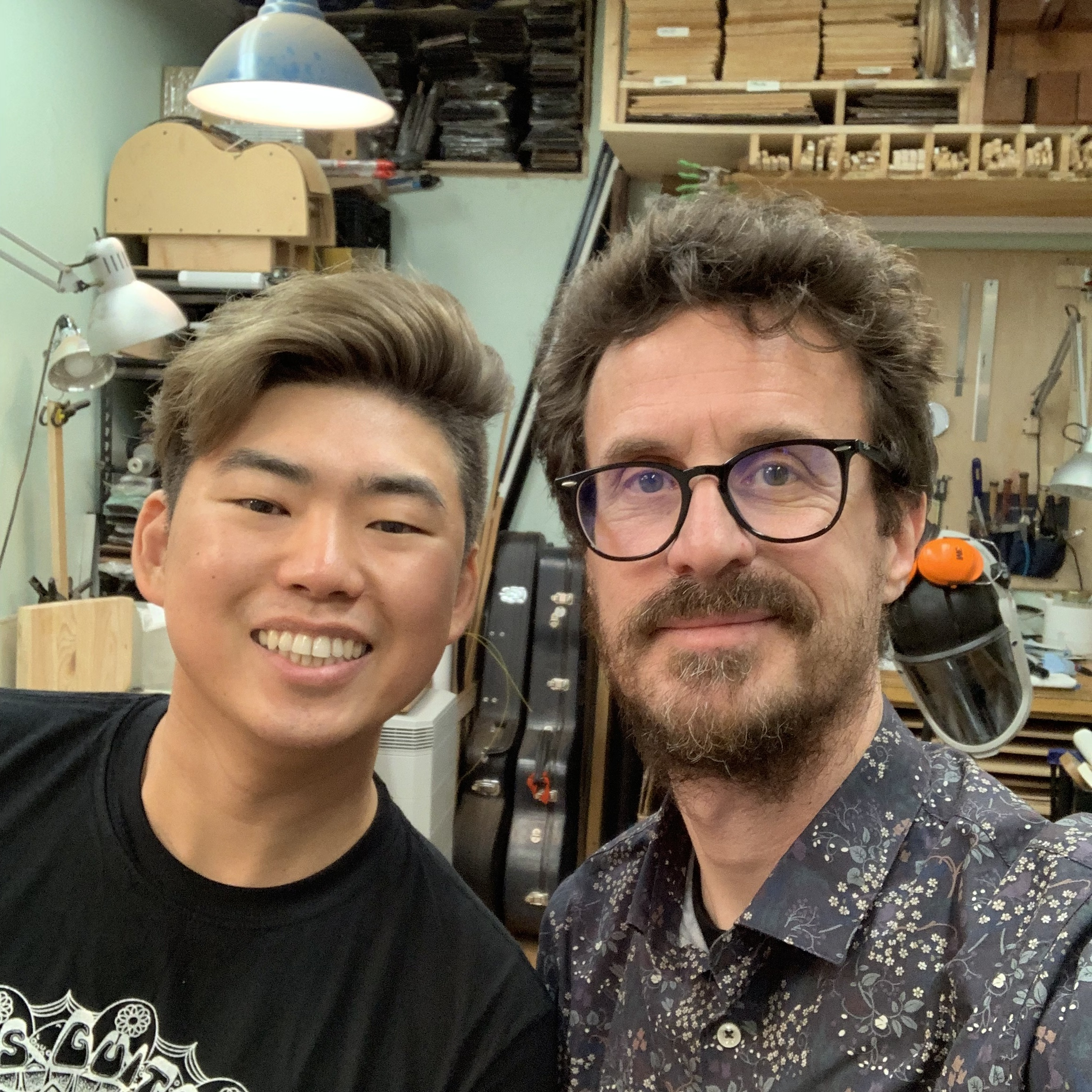 Débrief NAMM 2019 - Interview luthier Isaac Jang