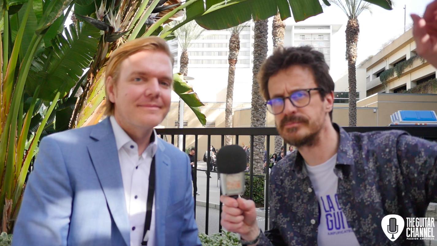 Interview Hendrik Müller - Le Musikmesse au NAMM 2019
