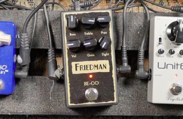 Test Pédale - Friedman BE-OD : une overdrive qui envoie du très gros son