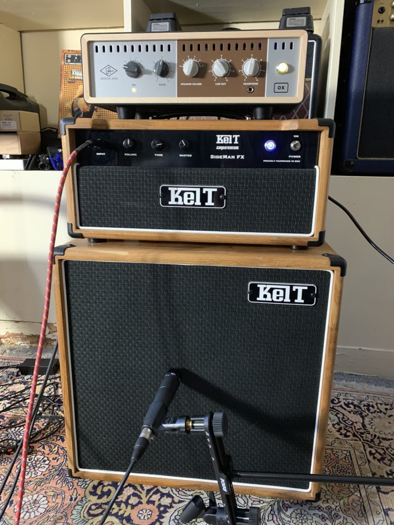 Test Matos - OX Amp Top Box Universal Audio / Ampli Kelt Sideman FX