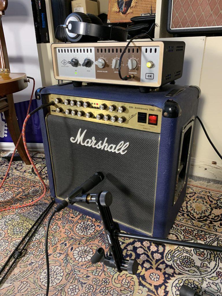 Test Matos - OX Amp Top Box Universal Audio / Ampli Marshall 6101