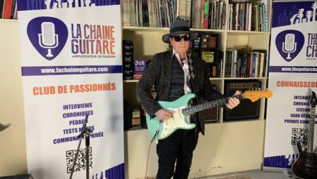 Interview Gary Lucas guitare à la main - Co-auteur de Grace avec Jeff Buckley