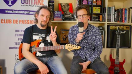Interview Guitare à la Main - Grégory François - Gowy