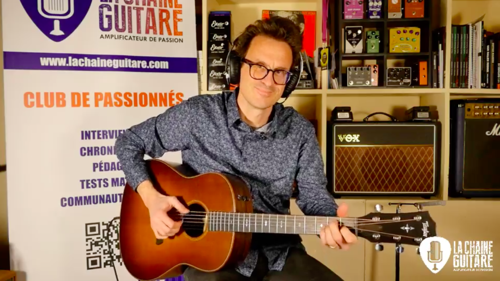 Replay Live 01/03/19 - Taylor Grand Pacific 717e / Guitares au Beffroi 2019
