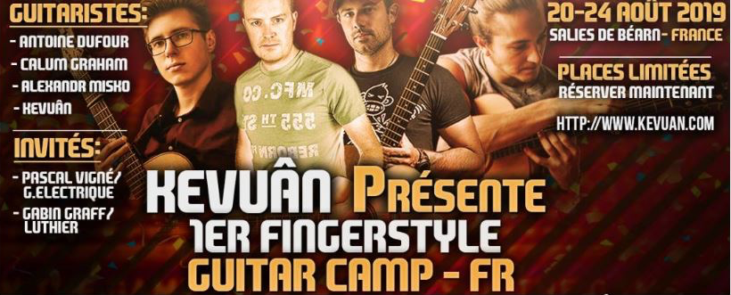 Kevuan Guitar Camp