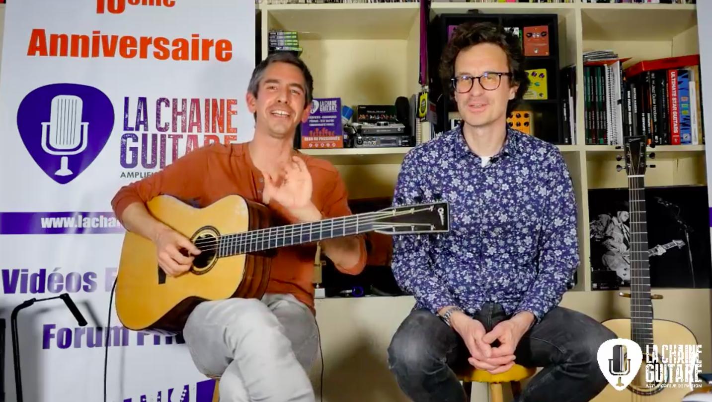 Replay Live 19/04/19 - Invité Spécial : Nicolas Blampain / Guitares Chatelier