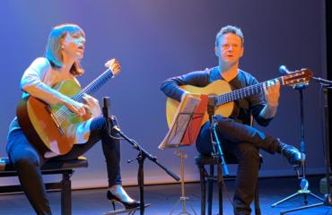 Interview Marylise Florid et Sylvain Luc - Guitares à la Main au Studio Marigny