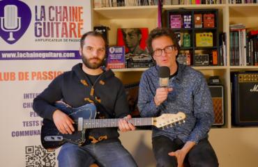 Interview luthier Tony Girault - Modèle California : une forme offset réussie