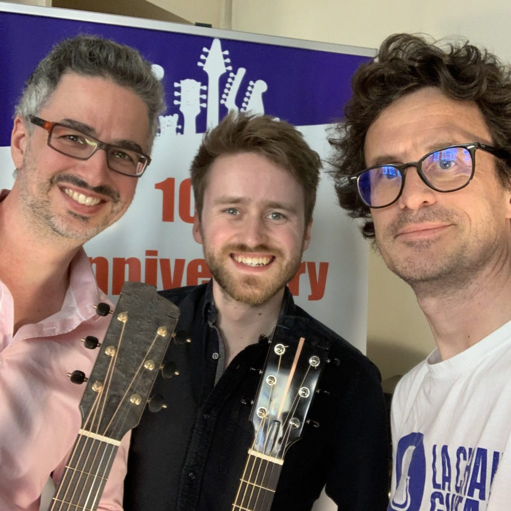6ème International Guitar Rendez-Vous - Interview Will McNicol et Shaï Sebbag