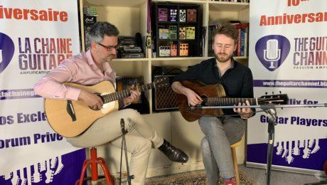 6ème International Guitar Rendez-Vous - Interview Will McNicol et Shaï Sebbag