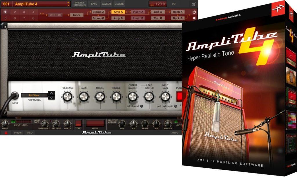 1 abonnement annuel à La Chaîne Guitare = 1 licence Amplitube Deluxe 4 offerte