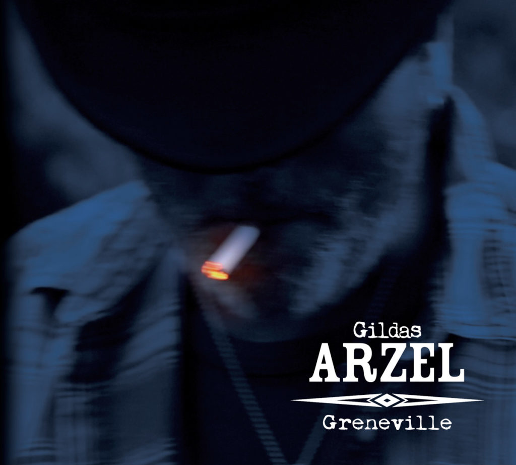 Interview Gildas Arzel - Guitare à la main dans son studio - Album Greneville