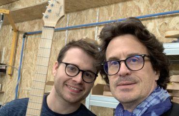 Inauguration atelier Marceau Guitars - Samedi 4 mai 2019 - Reportage & Interviews