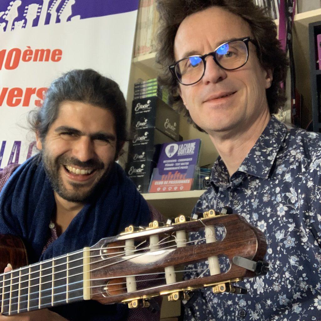 Interview José Ferreira - Trio in Uno - Guitare à la main - 7 cordes Nylon