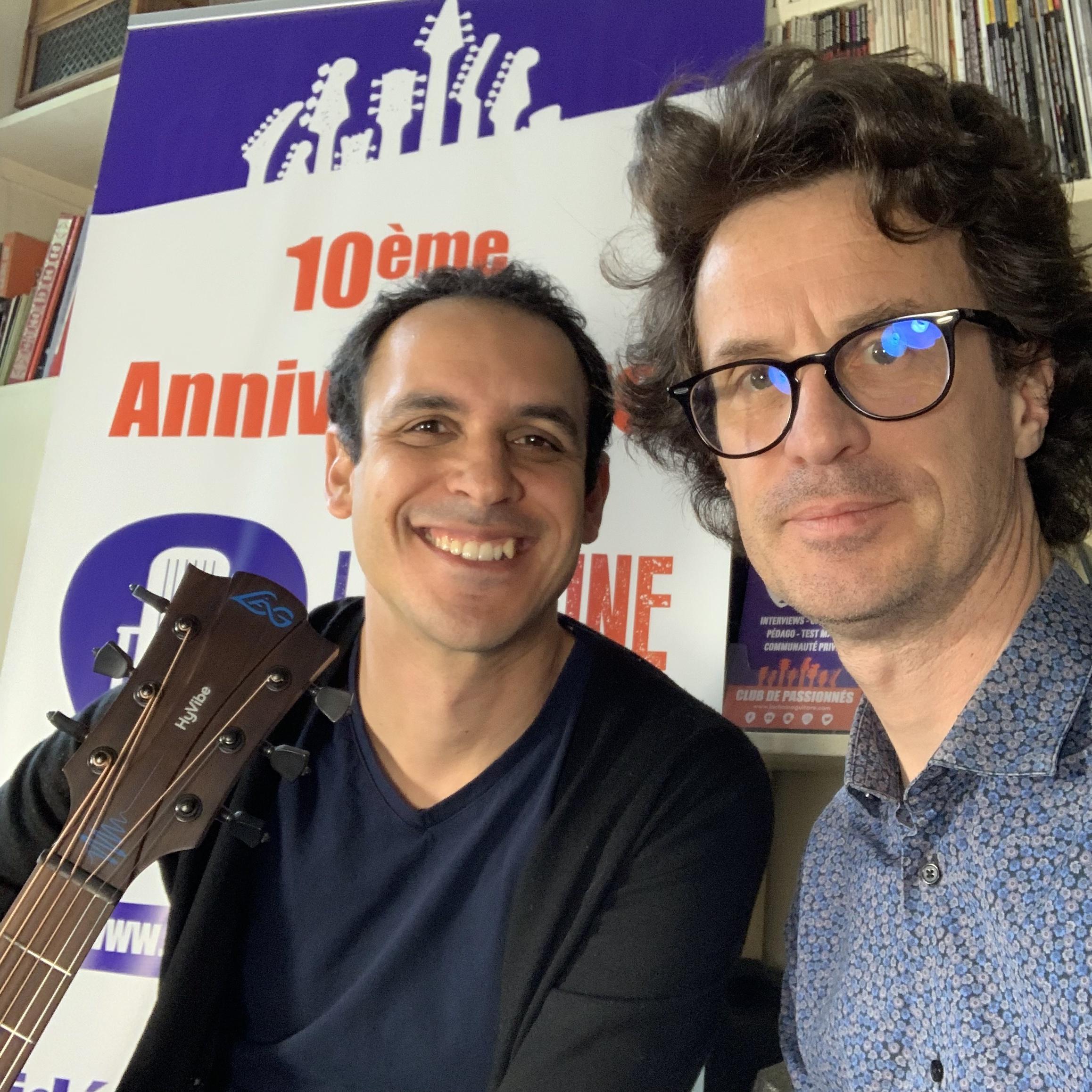 Interview Adrien Mamou-Mani - Guitare Hyvibe Lag