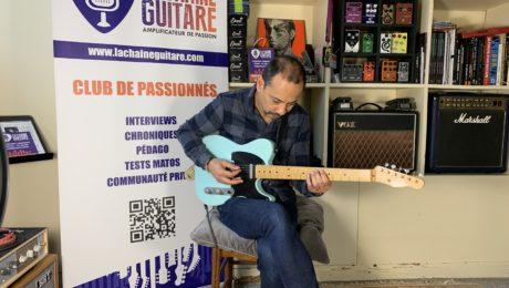 Interview Laurent Cohen - Un jazzman Telecaster à la main au showroom