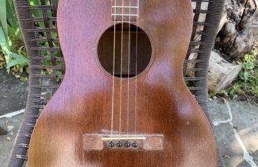 Martin Tenor de 1927 - Chronique Guitare d'Exception Christian Séguret et Gildas Arzel