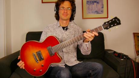 Test Guitare de Luthier - Modèle Heartbreaker - Christophe Grellier