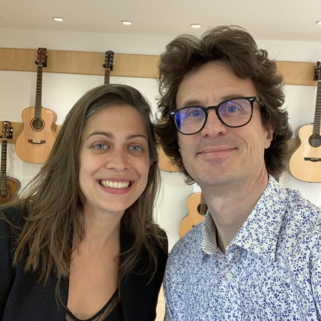 Showroom Guitares d'en France d'Aix-en-Provence - Présentation par Célia Enoc