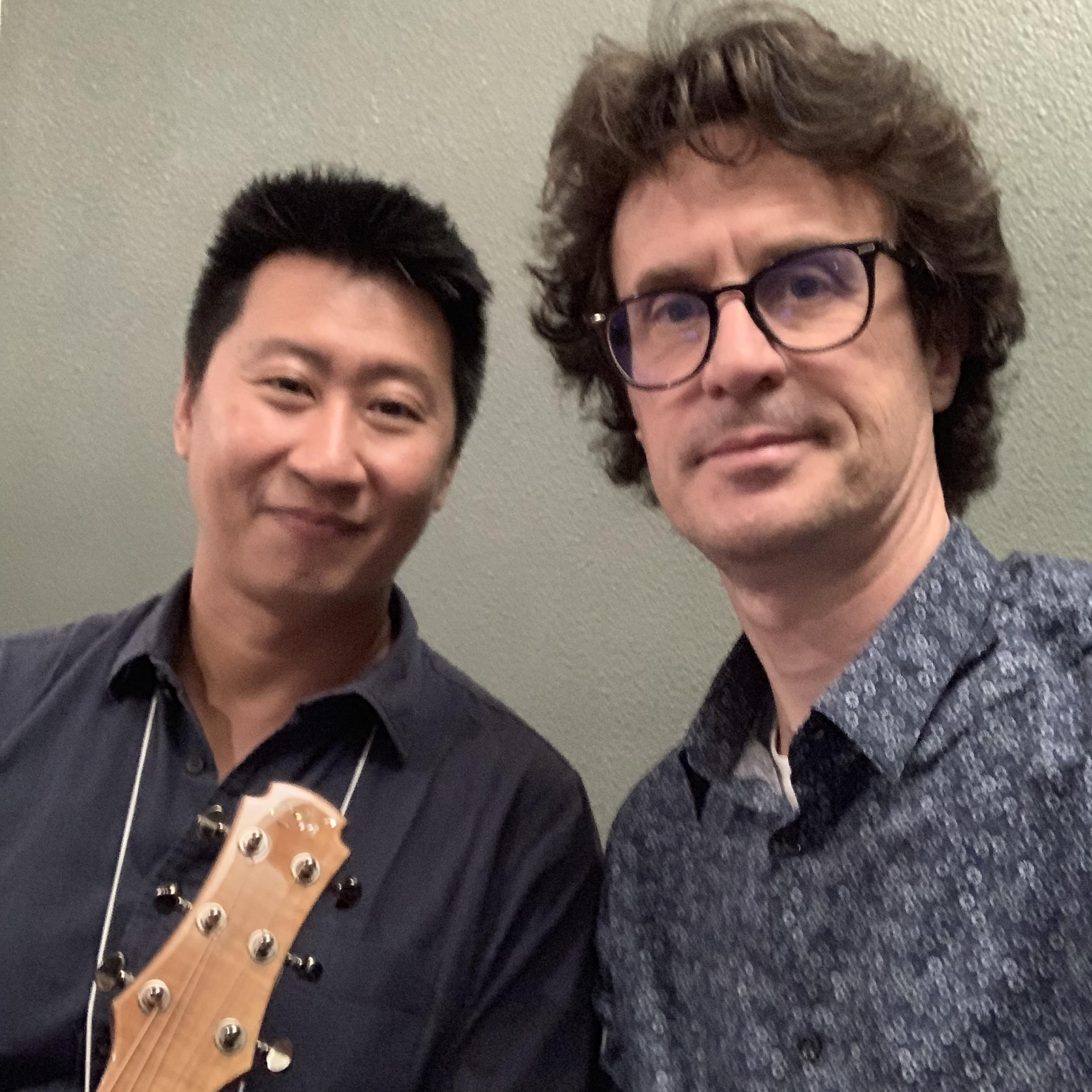 Interview luthier Ho Zen - Maestro Guitars - Sound Messe Osaka 2019