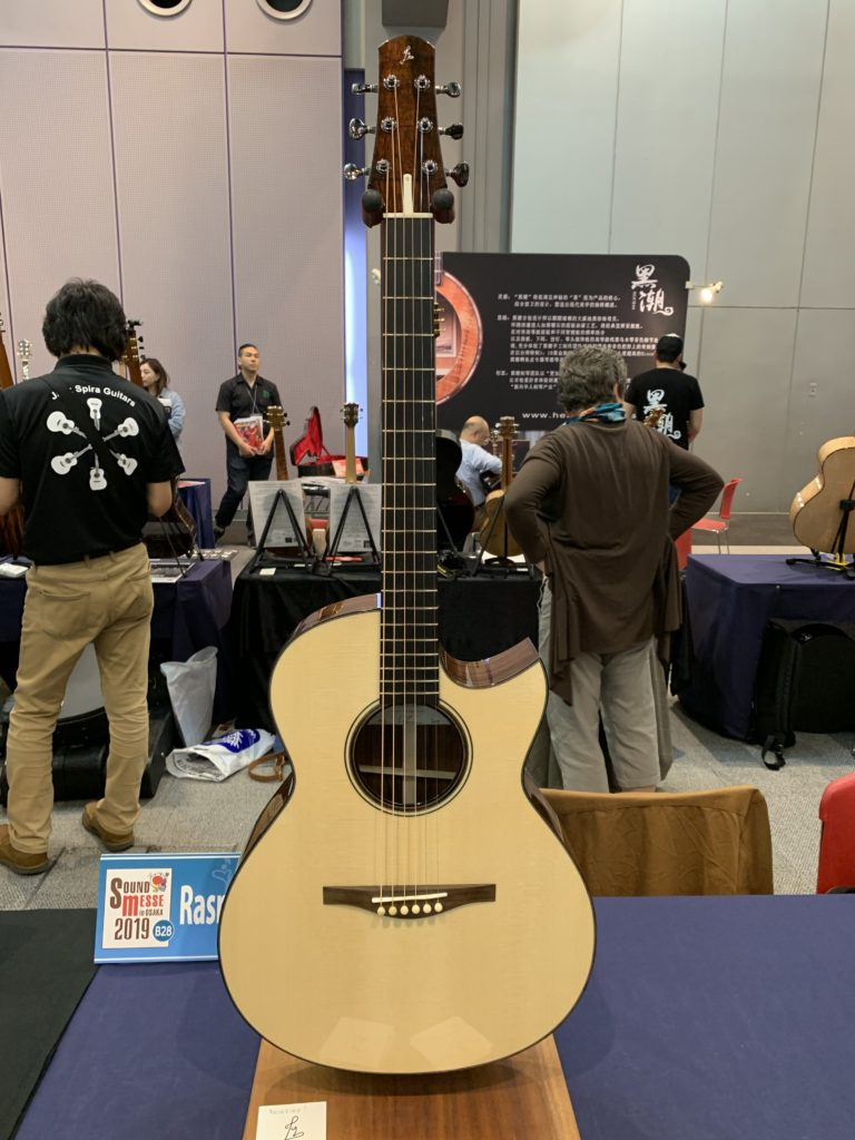 Interview luthier Lars Rasmussen – Sound Messe Osaka 2019