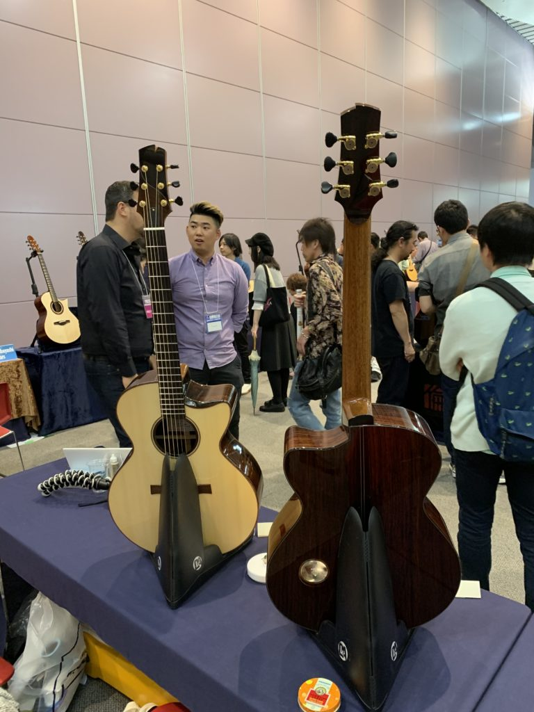Interview luthier Isaac Jang - Sound Messe Osaka 2019