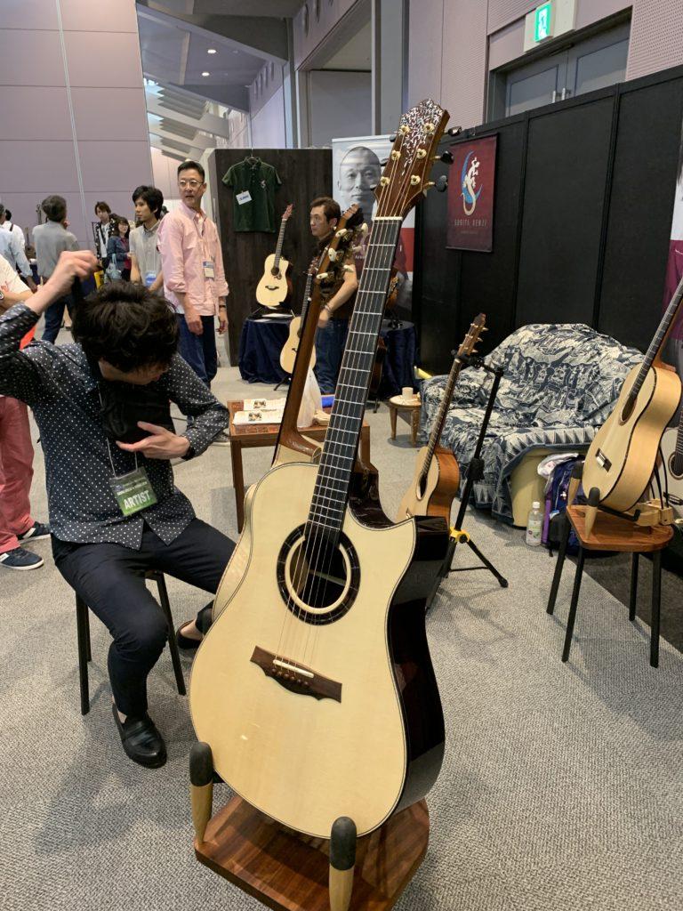 Interview luthier Keisuke Nishi - Keystone Guitars - Sound Messe Osaka 2019