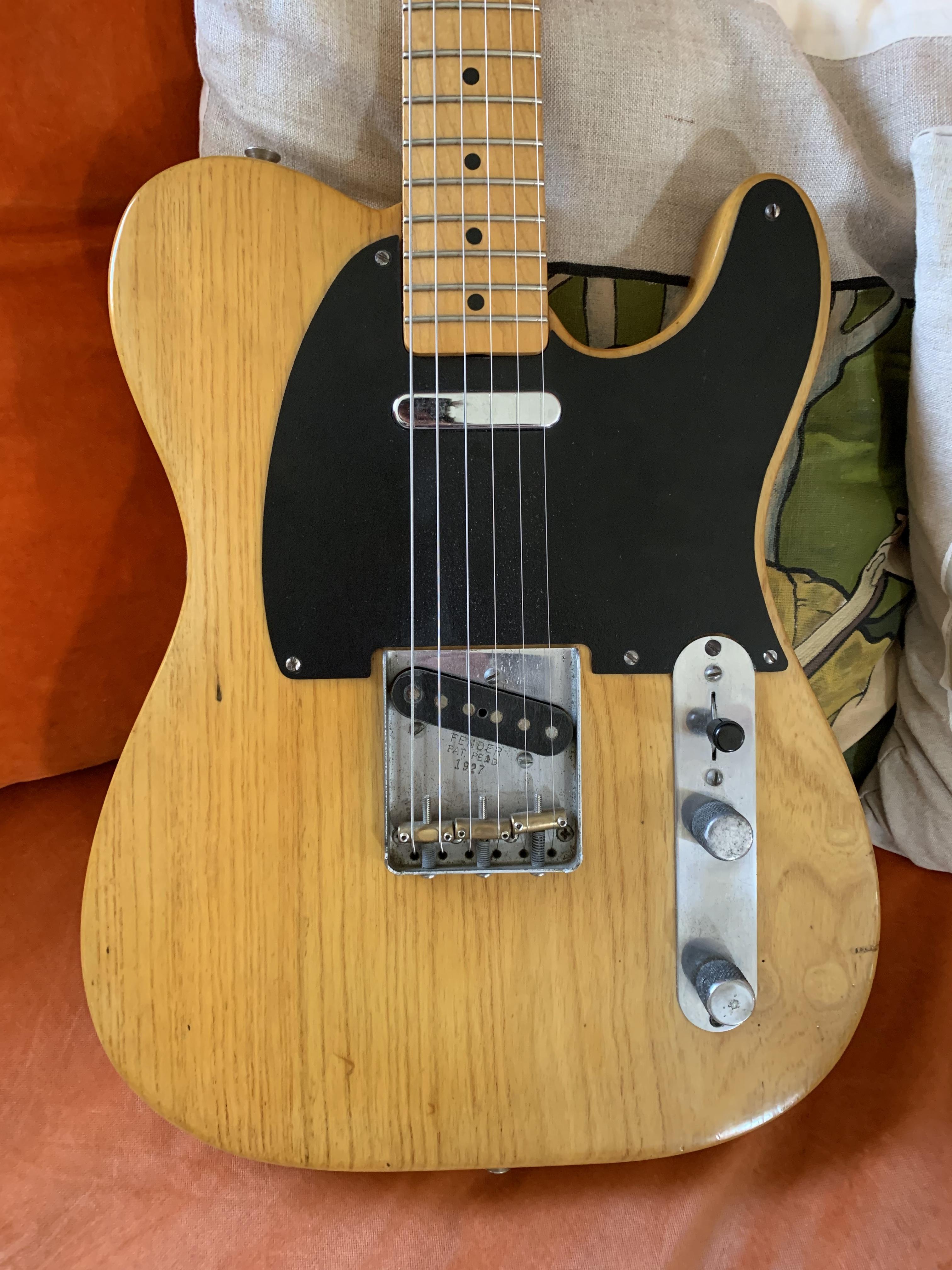 Fender Telecaster Blackguard 1951