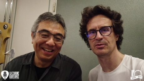 Interview Makoto Fukano - Freedom Custom Guitar Research - Sound Messe Osaka 2019