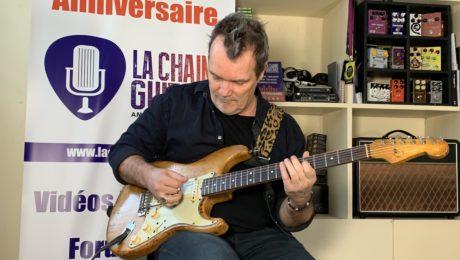 Axel Bauer - Interview - Approche du matos guitare - Partie 2/2